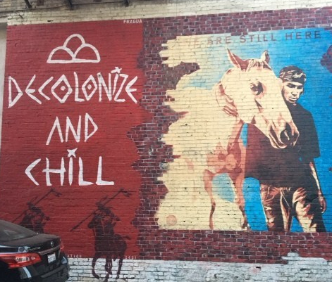 Decolonize and chill